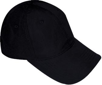 Gorra de Microfibra Negra 86e190118b6